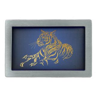 Hebilla del cinturón de oro del tigre hebilla cinturon