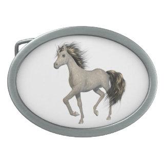 Hebilla del cinturón de oro del unicornio hebilla cinturon oval