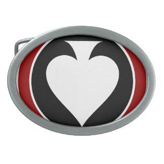 Hebilla del cinturón de Pokerati Hebillas De Cinturón Ovales