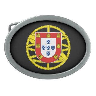 Hebilla del cinturón de Portugal Hebilla Cinturón Oval