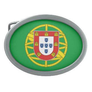 Hebilla del cinturón de Portugal Hebilla Cinturon Oval