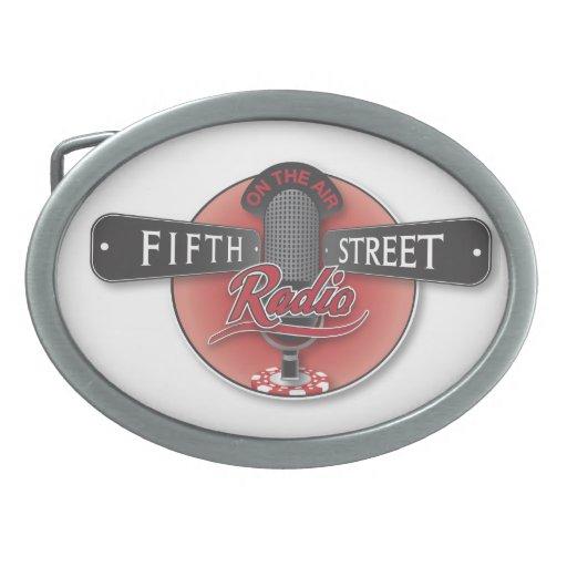 Hebilla del cinturón de radio de la quinta calle hebilla de cinturon