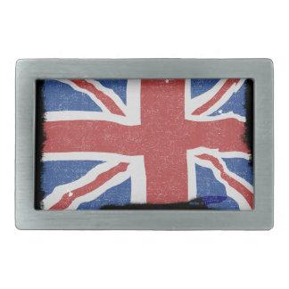 Hebilla del cinturón de Reino Unido del vintage Hebillas Cinturon Rectangulares