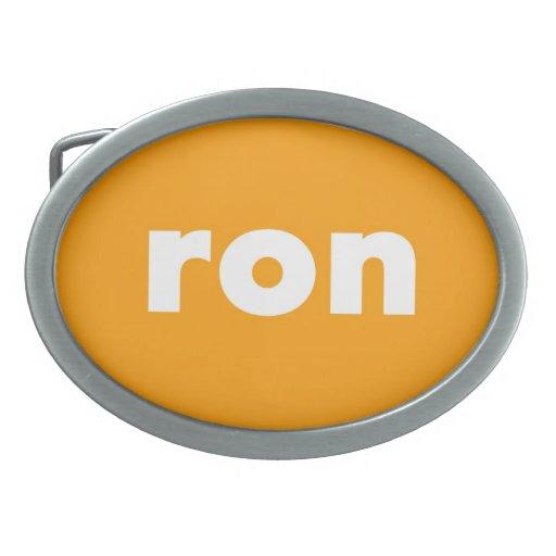 Hebilla del cinturón de RON Hebillas De Cinturon