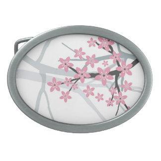 Hebilla del cinturón de Sakura Hebilla Cinturon Oval