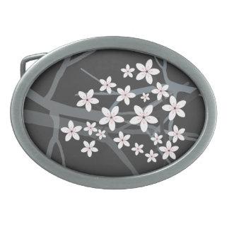 Hebilla del cinturón de Sakura Hebillas De Cinturón Ovales