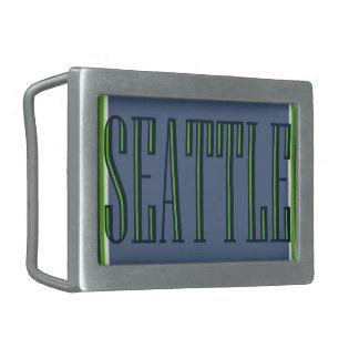 Hebilla del cinturón de Seattle Hebillas De Cinturon