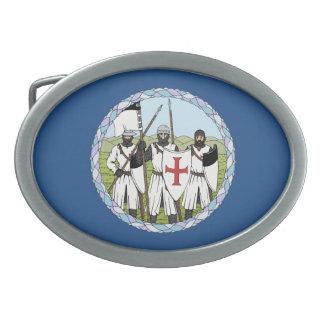 Hebilla del cinturón de Templar de los caballeros Hebilla De Cinturon Oval