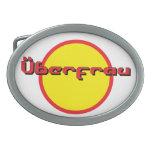 Hebilla del cinturón de Uberfrau, alemana para el  Hebilla De Cinturón
