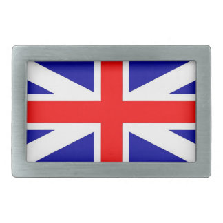Hebilla del cinturón de Union Jack Hebillas De Cinturón Rectangulares