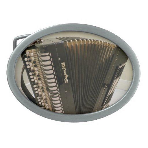 Hebilla del cinturón del acordeón hebilla de cinturon oval