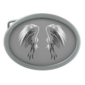 Hebilla del cinturón del ala del ángel del blanco hebilla cinturon