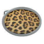 Hebilla del cinturón del amor del guepardo hebilla de cinturón