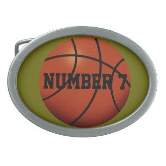 Hebilla del cinturón del baloncesto hebilla de cinturon