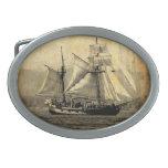 Hebilla del cinturón del barco pirata hebilla de cinturón