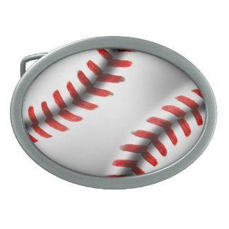 Hebilla del cinturón del béisbol hebillas cinturon ovales