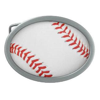 Hebilla del cinturón del béisbol hebilla de cinturón oval