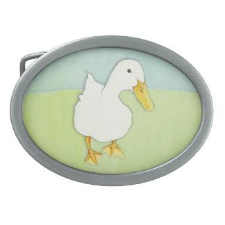 Hebilla del cinturón del beso del pato hebillas de cinturón