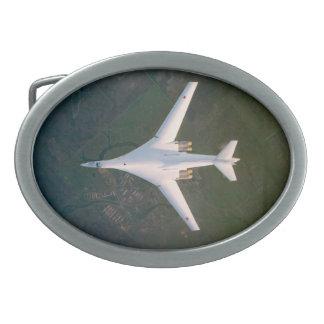 Hebilla del cinturón del bombardero B-1 Hebillas De Cinturón Ovales