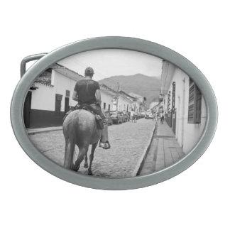 Hebilla del cinturón del caballo de Paisa Hebilla Cinturón