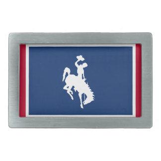 Hebilla del cinturón del caballo salvaje del vaque hebilla cinturón rectangular