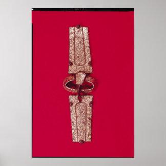 Hebilla del cinturón, del cementerio póster