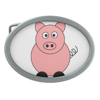 Hebilla del cinturón del cerdo hebillas cinturón