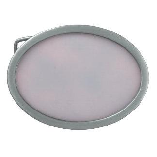 Hebilla del cinturón del cielo de la lavanda hebilla de cinturón oval