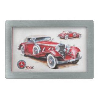 Hebilla del cinturón del coche del vintage hebilla de cinturon rectangular
