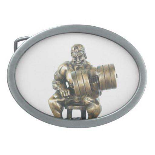 Hebilla del cinturón del culturista hebillas de cinturon