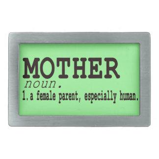 Hebilla del cinturón del día de madre de la defini hebilla cinturon rectangular