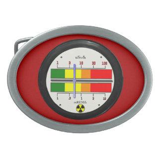 Hebilla del cinturón del efecto del contador de Ge Hebilla Cinturón Oval