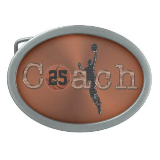 Hebilla del cinturón del entrenador de béisbol con hebillas de cinturón ovales