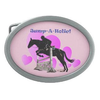 Hebilla del cinturón del Equestrian del caballo Hebillas De Cinturon Ovales
