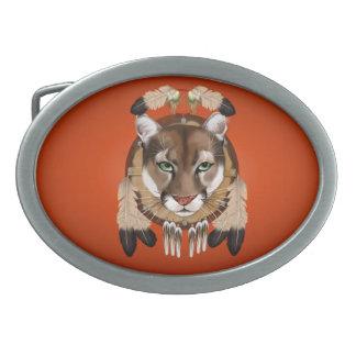 Hebilla del cinturón del escudo de Courgar Hebillas Cinturon Ovales