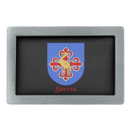Hebilla del cinturón del escudo de la familia de G Hebillas De Cinturón Rectangulares