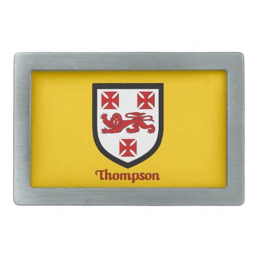Hebilla del cinturón del escudo de la familia de T Hebillas De Cinturon
