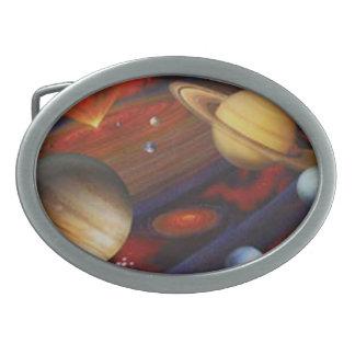 Hebilla del cinturón del espacio hebilla cinturón oval