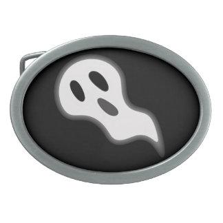 Hebilla del cinturón del fantasma de Halloween Hebilla Cinturon Oval