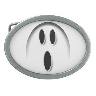 Hebilla del cinturón del fantasma hebillas de cinturon ovales