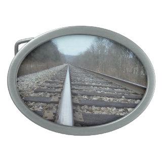 Hebilla del cinturón del ferrocarril hebilla de cinturon oval