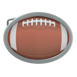 Hebilla del cinturón del fútbol hebilla de cinturon