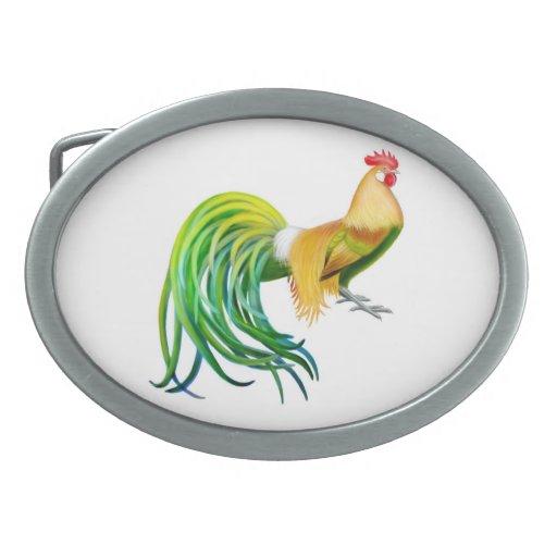 Hebilla del cinturón del gallo de Phoenix Hebilla Cinturón