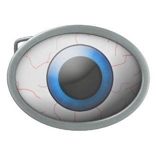 Hebilla del cinturón del globo del ojo hebillas cinturon ovales