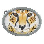 Hebilla del cinturón del guepardo hebilla de cinturón oval