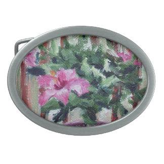 Hebilla del cinturón del hibisco hebillas cinturón