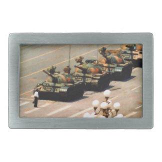 Hebilla del cinturón del hombre del tanque hebillas de cinturon rectangulares
