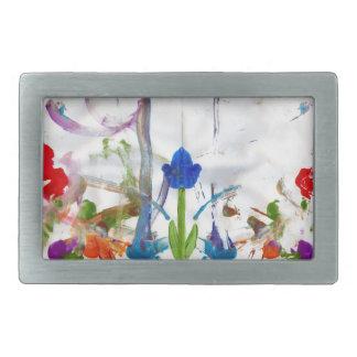 Hebilla del cinturón del jardín de la primavera hebillas cinturon rectangulares
