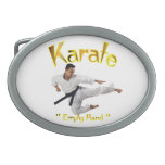 Hebilla del cinturón del karate hebillas de cinturón