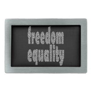 hebilla del cinturón del laberinto de la igualdad  hebillas cinturón rectangulares